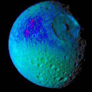 Mimas saturn moon